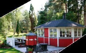 Закрытая летняя кухня в Краснодаре